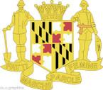 STICKER US Army National Guard Maryland