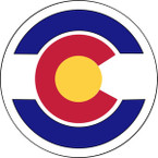 STICKER US ARMY NATIONAL GUARD Colorado