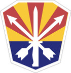 STICKER US ARMY NATIONAL GUARD Arizona