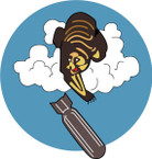 STICKER US ARMY AIR FORCE 569th Bomb Squadron