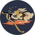 STICKER US ARMY AIR FORCE 376th Fighter Squadron