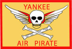 STICKER US ARMY AIR FORCE  Yankee Air Pirate - Special Forces