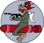 STICKER US ARMY AIR FORCE  651st Bombardment Squadron