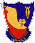 STICKER US ARMY AIR FORCE  376th Bombardment Group