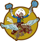 STICKER US ARMY AIR CORPS 397th Fighter Squadron - 368th Fighter Group