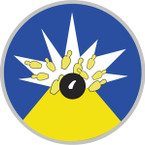 STICKER US ARMY AIR CORPS 19th Bombardment Squadron
