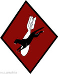 STICKER US ARMY AIR CORPS  53rd Bomb Squadron