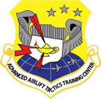 STICKER USAF Advanced Airlift Tactics Training Center