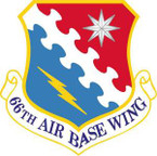 STICKER USAF 66th Air Base Wing