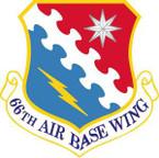 STICKER USAF 66th Air Base Wing