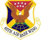 STICKER USAF 65th Air Base Wing