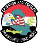 STICKER USAF 398th Air Expeditionary Group