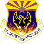 STICKER USAF 214th Reconnaissance Group