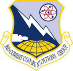 STICKER USAF 162nd Combat Communications Group