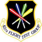 STICKER USAF 413fth Flight Test Group