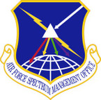 STICKER USAF Spectrum Management Office Emblem