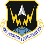 STICKER USAF Space Innovation and Development Center Emblem