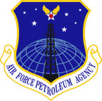 STICKER USAF Petroleum Agency Emblem