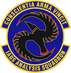 STICKER USAF Integrated Air Defense Systems Analysis Squadron Emblem