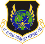STICKER USAF Global Logistics Support Center Emblem