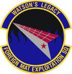 STICKER USAF Foreign Materiel Exploitation Squadron Emblem