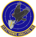 STICKER USAF Electronic Analysis Squadron Emblem