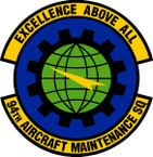 STICKER USAF 94th Aircraft Maintenance Squadron Emblem