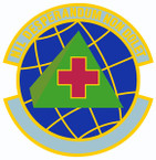 STICKER USAF 916th Aerospace Medicine Squadron Emblem