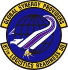 STICKER USAF 87th Logistics Readiness Squadron Emblem