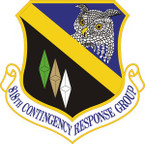 STICKER USAF 818th Contingency Response Group Emblem