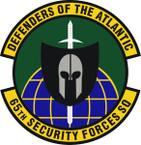 STICKER USAF 65th Security Forces Squadron Emblem