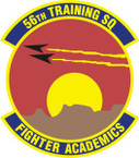 STICKER USAF 56th Training Squadron Emblem