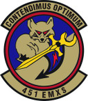 STICKER USAF 451st Expeditionary Maintenance Squadron Emblem