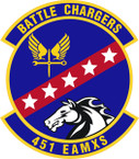 STICKER USAF 451st Expeditionary Aircraft Maintenance Squadron Emblem