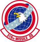STICKER USAF 319th Missile Squadron Emblem