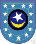 STICKER U S ARMY FLASH  19TH INFANTRY