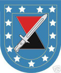 STICKER U S ARMY FLASH   7TH INFANTRY DIVISION