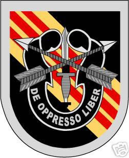 Sticker U S Army Flash 5th Special Forces Group M C
