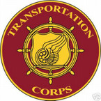 STICKER U S ARMY BRANCH Transportation Corps
