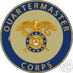 STICKER U S ARMY BRANCH QUARTERMASTER CORPS