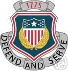 STICKER U S ARMY BRANCH ADJUTANT GENERAL