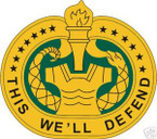 STICKER U S ARMY BADGE Drill Sergeant COL