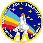 STICKER NASA SPACE SHUTTLE MISSION STS-27