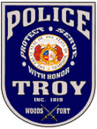 STICKER CIVIL TROY MS POLICE