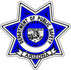STICKER ARIZONA POLICE SHIELD