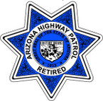 STICKER ARIZONA POLICE RETIRED update