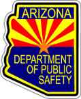 STICKER ARIZONA POLICE
