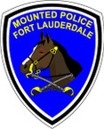 STICKER CIVIL  FORT LAUDERDALE MOUNTED POLICE