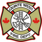 STICKER CIVIL QUINTE WEST FIRE DEPARTMENT