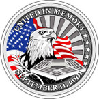 STICKER PATRIOTIC IN MEMORY OF PENTAGON